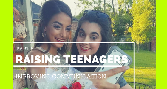 Raising Teens Improving Communication