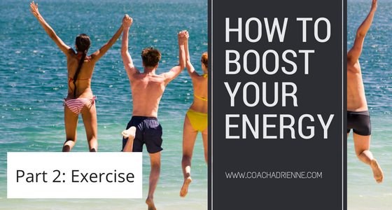 Exercises to boost your energy