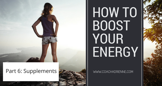 Energy boosting Supplements